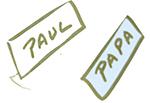Etiquettes noms