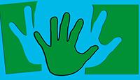 Découper la main enfant