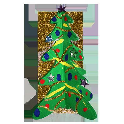 Sapin de Noël de la BOX  de Noël