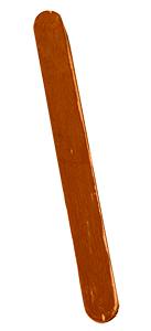 Peindre 2 bâtons marrons pour le tronc du sapin