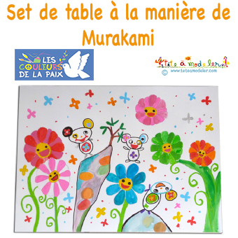 Set de table à la manière de Murakami
