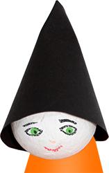 Dessiner le visage de la sorcière