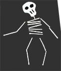 Collage du squelette terminé
