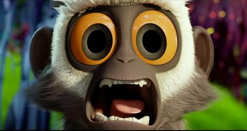 Steve le singe Tempête de boulettes