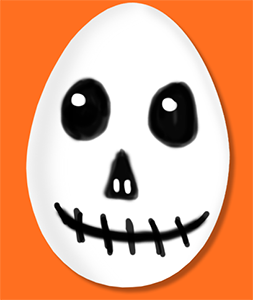 Ajouter les détails du visage du fantôme
