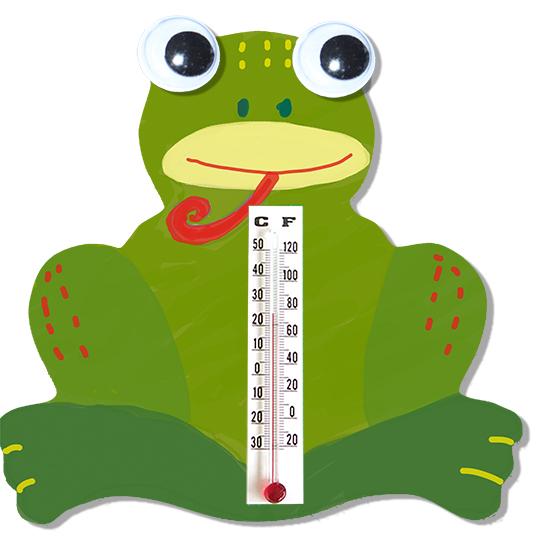 Thermomètre en grenouille