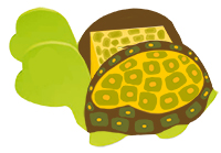 Terminer la peinture de la tirelire tortue