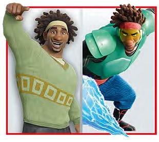 Wasabi les nouveaux héros Disney