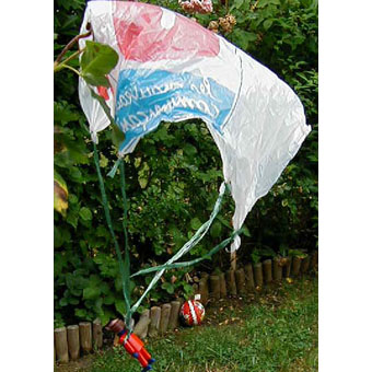 Fabriquer un parachute pour les jouets enfants