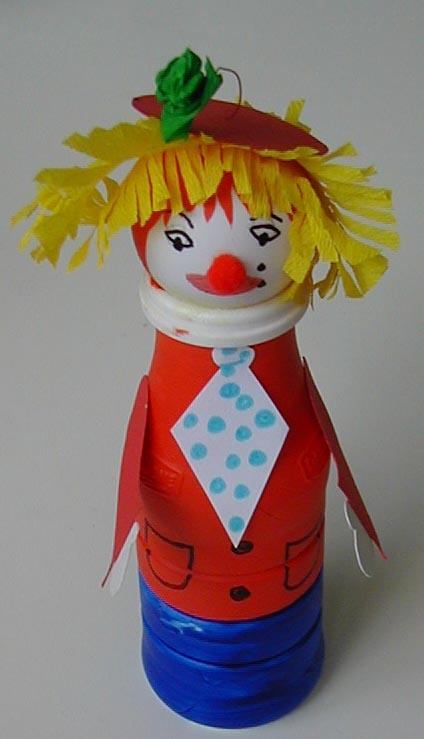 Fabriquer des quilles clowns