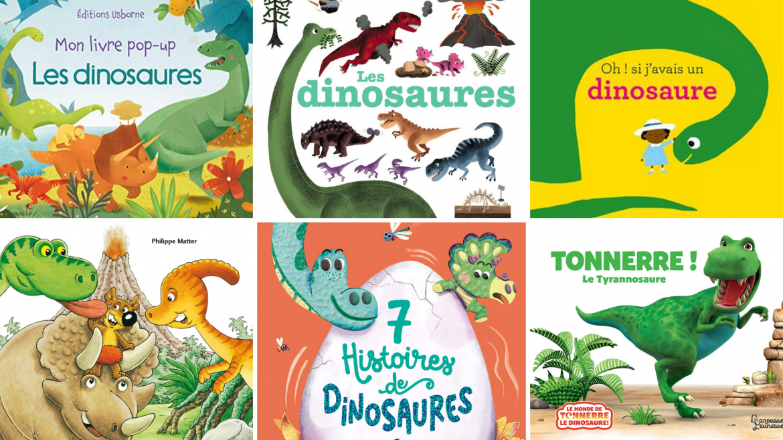 Une sélection d'albums jeunesse pour vous aider à choisir un bon livre dinosaure aux enfants !
