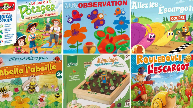 Retrouvez notre sélection de jeux de société nature. Des classiques que les enfants adorent et qui sentent bons le printemps