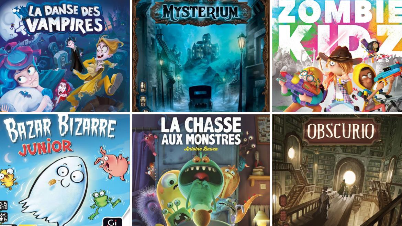 Bouh ! Retrouvez notre monstrueuse sélection de jeux de société pour Halloween et organisez une super soirée jeux pour toute la famille. Sélection dès 3 ans.