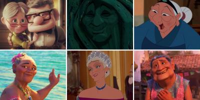 Un top de 12 mamies et grands-mères Disney, Pixar, Ghibli et autres qu'on adore et qui sont inoubliables. Qui est la meilleure mamie  Disney parmi ce top ?