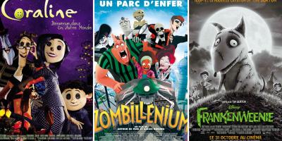 Retrouvez des films d'animation sur le thème d'halloween pour organiser une soirée ciné à la maison avec vos petites terreurs.