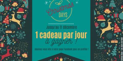 Les christmas Days de Tête à modeler est une période de concours lancée sur la page Facebook de Tête à modeler