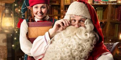 Téléchargez votre vidéo du Père Noël personnalisée avec les infos de votre enfant facilement grâce au site Pere Noel Portable.
