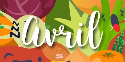 Liste des fruits et légumes de saison en avril : Consommer des fruits et légumes de saison c'est bon pour l'environnement mais aussi pour vous ! Orange, radis et asperge : retrouvez notre jolie liste des fruits et légumes d'avrils. Vous pourrez même l'imp