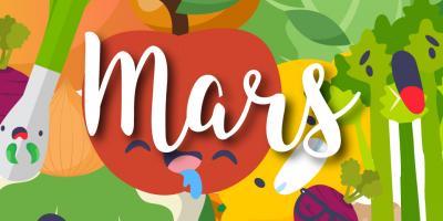 Liste des fruits et légumes de saison en mars : Consommer des fruits et légumes de saison c'est bon pour l'environnement mais aussi pour vous ! chou-rouge, chou-rave ou encore pamplemousse : retrouvez notre jolie liste des fruits et légumes de mars. Vous