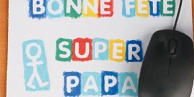 Idee cadeau fête des pères: voici une sélection de produits indispensables à vos bricolages. Porte-cravates, décapsuleur, cartes, et tant d'autres objets aussi utiles qu'originaux !Avec ces produits ainsi que nos tutos, vous avez tous les ingrédients po