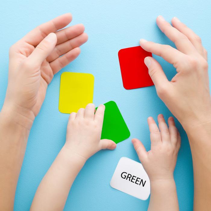 Jeu pour apprendre les couleur en anglais