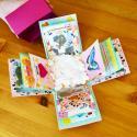 Pas-à-pas de boite surprise DIY à découvrir rapidement. Offrez une boite surprise à maman pour la Fête des mères, la Fête des pères ou pour la Saint Valentin. Une jolie manière d'offrir un cadeau parfait à quelqu'un qu'on aime