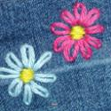 Fabrique des fleurs - Réalise facilement ces fleurs brodées, apprend à les faire c'est très facile.