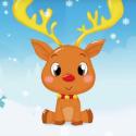La comptine du renne de Noël est une chanson d'hiver qui sera très drole à faire pour noel. Apprenez la en famille et chantez la en decembre sur les marches de noel. copie copie