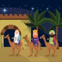 marche des rois mages version 2 afin de l'apprendre en famille pour les fêtes. découvrez les paroles.