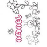 Amael, coloriages Amael