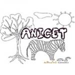 Anicet, coloriages Anicet