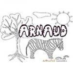 Arnaud, coloriages Arnaud