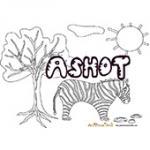 Ashot, coloriages Ashot