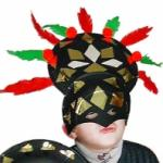 Masque Inca, masque carnaval Rio