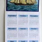 Fabriquer son propre calendrier mural