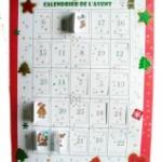 Fabriquer un calendrier de l'Avent à imprimer