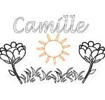 Camille, coloriages Camille