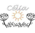 Celia, coloriages Celia