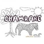 Chambrane, coloriages Chambrane