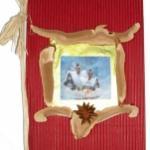 Fabriquer un carnet de chant pour Noël. Bricolage pour réaliser un carnet de chants de Noël. La couverture décorée, il suffit d'imprimer et de coller les chants de Noël et de chanter !
