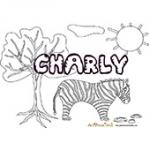 Charly, coloriages Charly
