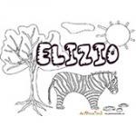 Elizio, coloriages Elizio