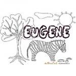 Eugene, coloriages Eugene