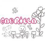 Gabriela, coloriages Gabriela