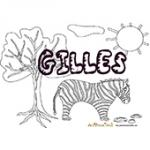 Gilles, coloriages Gilles