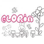 Gloria, coloriages Gloria