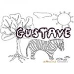 Gustave, coloriages Gustave