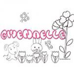 Gwenaelle, coloriages Gwenaelle