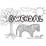 Gwendal, coloriages Gwendal