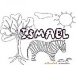 Ismael, coloriages Ismael